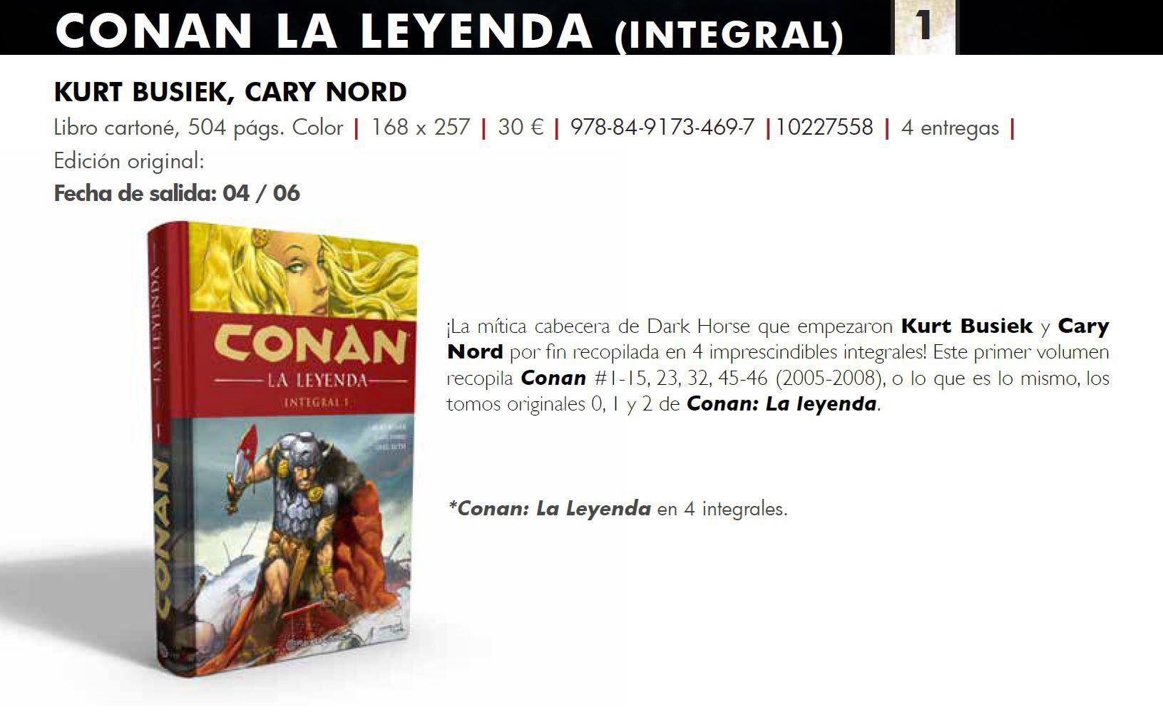 Conan: La leyenda (integral)