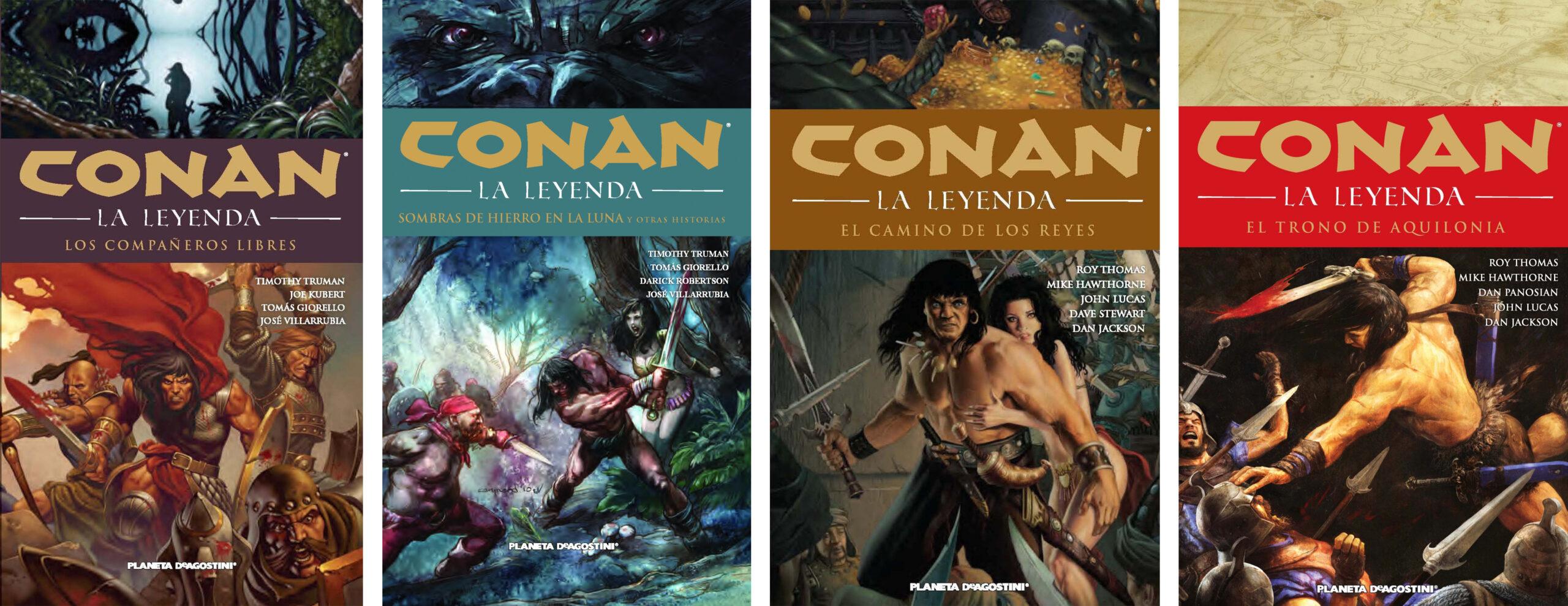 Conan: La leyenda (integral) 4