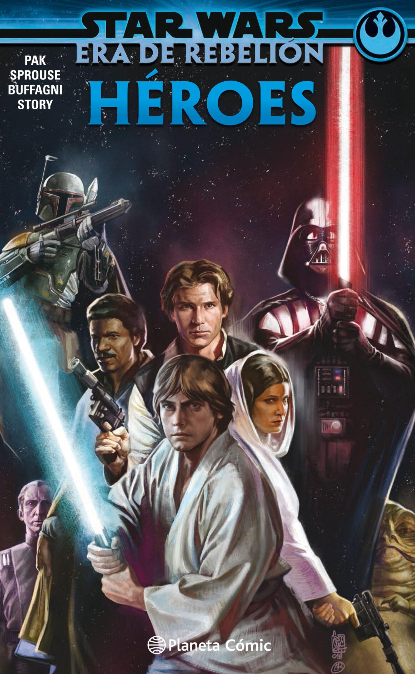 Heroes Villanos Star Wars